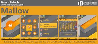 themes java nokia 2700 mallow theme for nokia x2 00 x2 02 x3 00 c2 01 206 208 301