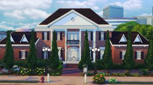 just spent the past 4 hours making a colonial house thesims