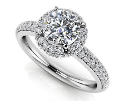 wedding band with engagement ring customize your own high quality diamond engagement ring