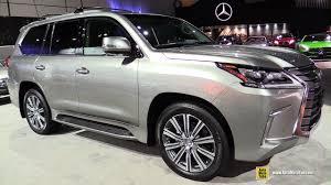 lexus lx lease 2017 lexus lx 570 exterior and interior walkaround 2016 la