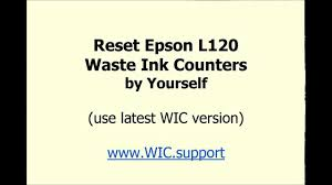 resetter epson l120 error communication epson l120 reset by yourself videotutorial youtube
