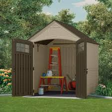 83 Gallon Deck Box by Suncast Sutton 7 Ft 3 In X 7 Ft 4 5 In Resin Storage Shed