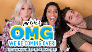 iisuperwomanii colorful bedroom makeover for lilly singh youtube