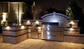 outdoor kitchen bbq designs decor charming unilock fireplaces and fire pits set for outdoor
