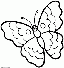 simple butterfly outline 324637