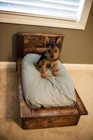 Cute Puppy Beds Wooden Pallet Dog Bed Plans Pallet Dog Beds Dog Beds And Pallets