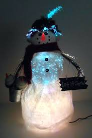 decorations multi colour with led decorations fibre optic