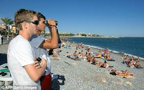 bureau vall plan de cagne swimming ban on riviera beaches after shark alert daily