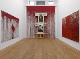 Image Gallery Controversial Paintings - two exhibitions showcase the bloody relics of hermann nitsch s rituals