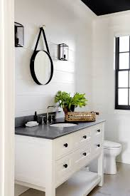 pretty cottage bathroom ideas like the high board with light blue