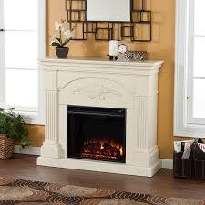 Electric Fireplaces Amazon by Amazon Com Sicilian Harvest Electric Fireplace Ivory Kitchen