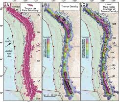 Portland Earthquake Map by Cascadia Subduction Tremor Muted By Crustal Faults Geology