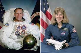 space shuttle astronaut meet the only married couple to fly together in space time com
