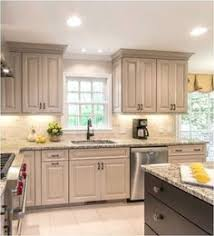 Painted Kitchen Cabinets White Taupe Beige Painted Kitchen Cabinets U2026 Cd Kitchen Pinterest