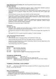 rpg programmer resume as 400 resume sample for experienced