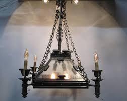 Spanish Revival Chandelier Spanish Gothic Etsy