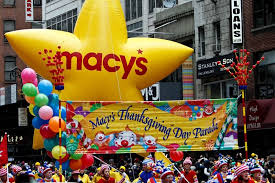 macy s thanksgiving day parade history time route thanksgiving 2017