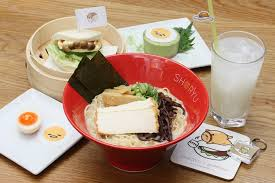 cuisine pop shoryu ramen launch pop up gudetama menu for easter city