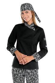 blouse de cuisine veste de cuisine japonaise pour femme