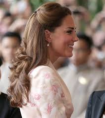 plastic hair duchess kate wears plastic hair like a regular human today