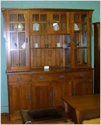 oak mission style buffet and hutch lloyd u0027s solid maple furniture
