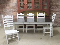 Farm Table With Bench And Chairs Farmhouse Tables