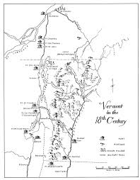Map Of Vt Vermont Maps Old Stone House Museum