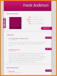 Html Resume Templates 5 John Smith Resume Template Ledger Paper