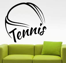 online buy wholesale huge wall murals from china huge wall murals huge tennis pattern wall sticker tennis quotes sport series wall mural home bedroom art cool decor