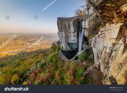 high falls lovers leap rock city stock photo 540131443 shutterstock