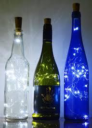 ansaw spark i wine bottle lights starry bottle lamp kit cork