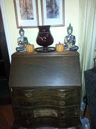 Desk Painting Ideas Old Secretary Desk Gets New Life Hometalk