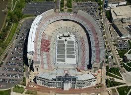 Ohio Stadium Map by Image Gallery Midwest Aerial Photography