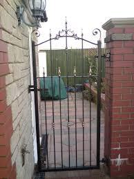 aber wrought iron wrought iron gate pontypridd