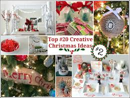 Creative Ideas For Home Decor Top 20 Creative Christmas Ideas Ii Fox Hollow Cottage