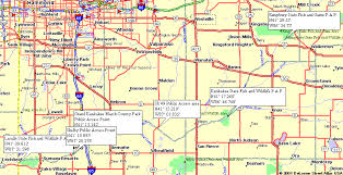 Indiana rivers images Overview map of kankakee river in indiana maps of river and maps gif
