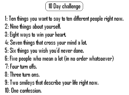 Challenge Rate Challenge Day 5 This And That
