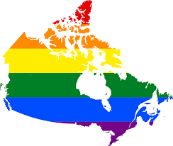 Maps Of Canada by File Lgbt Flag Map Of Canada Svg Wikimedia Commons