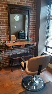 Rustic Vanity Table Rustic Bohemian Vanity Table Salon Station Boho Repurpose