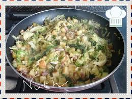 comment cuisiner le chou vert frisé poêlée de chou vert frisé délice et saveur de nath