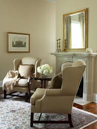 Wing Back Chair Design Ideas Furniture Beige Wing Back Chair With Fireplace And Wall Also