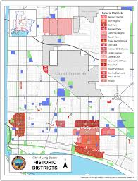 Long Beach Ca Map Long Beach Development Service Lifestyles Of Long Beach