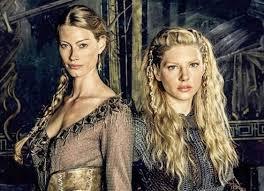 lagertha hairstyle vikings lagertha vs aslaug the young folks
