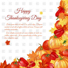 thanksgiving day background vector clipart image 110635 rfclipart