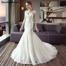 luxury mermaid wedding dresses aliexpress com buy darlingoddess luxury lace mermaid wedding