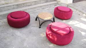 Home Furniture Stores In Hyderabad India Prashant And Aruna Are Famous For Creating Recycled Products