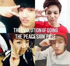 Peace Sign Meme - 150 best kpop bts 2 images on pinterest meme center bts bangtan