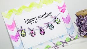 easter cards how to make a watercolor easter card