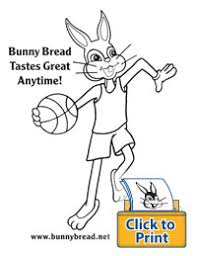 coloring book pages bunny bread fun coloring pages print