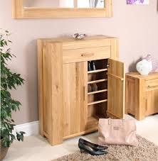 Pine Oak Furniture Pine Shoe Storage Cabinet Bar Cabinet